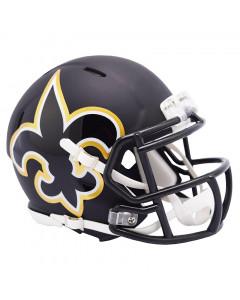 New Orlwans Saints Riddell AMP Speed Mini Helm