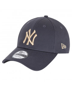 New York Yankees New Era 9FORTY Essential Dark Greykapa
