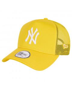 New York Yankees New Era Tonal Mesh Trucker A-Frame Yellow kapa
