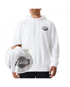 Los Angeles Lakers New Era Metallic pulover s kapuco