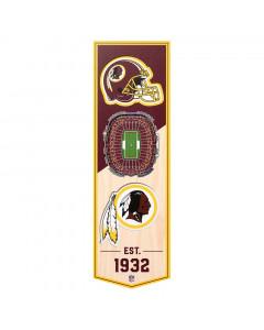 Washington Redskins 3D Stadium Banner slika