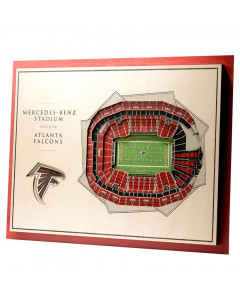 Atlanta Falcons 3D Stadium View slika