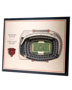 Chicago Bears 3D Stadium View Bild