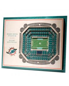 Miami Dolphins 3D Stadium View slika