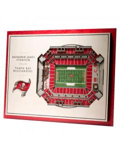 Tampa Bay Buccaneers 3D Stadium View slika