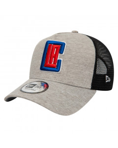 Los Angeles Clippers New Era 9FORTY A-Frame Trucker Jersey Essential kapa