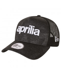 Aprilia New Era 9FORTY A-Frame Trucker Wordmark kapa