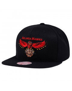 Atlanta Hawks Mitchell & Ness Wool Solid kapa