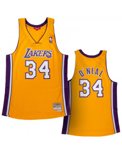 Shaquille O'Neal 34 Los Angeles Lakers 1999-00 Mitchell & Ness Swingman ženski dres