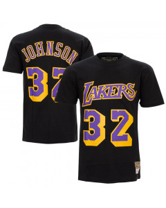 Magic Johnson 32 Los Angeles Lakers  Mitchell & Ness HWC T-Shirt