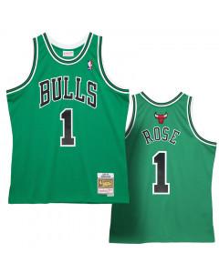 Derrick Rose 1 Chicago Bulls 2008-09 Mitchell & Ness Swingman dres