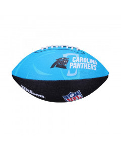 Carolina Panthers Wilson Team Logo Junior lopta za američki nogomet