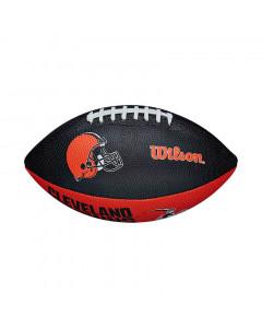 Cleveland Browns Wilson Team Logo Junior lopta za američki nogomet