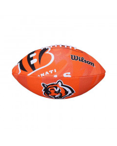Cincinnati Bengals Wilson Team Logo Junior lopta za američki nogomet