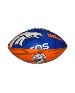 Denver Broncos Wilson Team Logo Junior lopta za američki nogomet