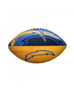 Los Angeles Chargers Wilson Team Logo Junior lopta za američki nogomet