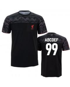Liverpool Sport T-Shirt N°6 (Druck nach Wahl +15€)
