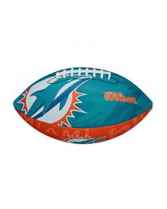 Miami Dolphins Wilson Team Logo Junior lopta za američki nogomet