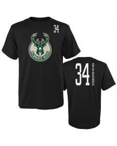 Giannis Antetokounmpo 34 Milwaukee Bucks Standing Tall majica
