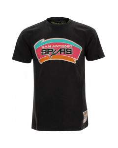 San Antonio Spurs Mitchell & Ness Worn Logo HWC majica