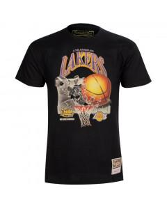Los Angeles Lakers Mitchell & Ness Champions Print HWC T-Shirt