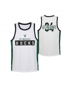 Giannis Antetokounmpo Milwaukee Bucks Dominate otroški dres