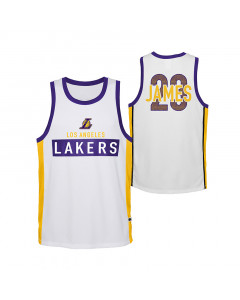Lebron James Los Angeles Lakers Dominate Kinder Trikot