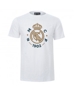 Real Madrid White T-Shirt N°44
