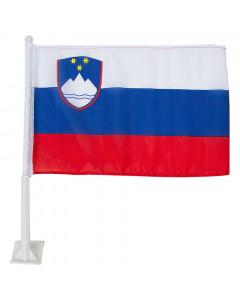 Slovenija avto zastavica 43x28 cm