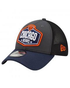Chicago Bears New Era 39THIRTY Trucker 2021 NFL Official Draft Mütze