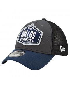 Dallas Cowboys New Era 39THIRTY Trucker 2021 NFL Official Draft Mütze