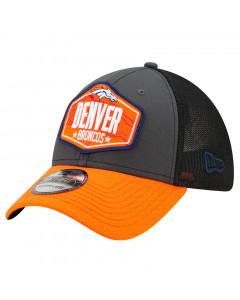 Denver Broncos New Era 39THIRTY Trucker 2021 NFL Official Draft kapa