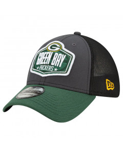 Green Bay Packers New Era 39THIRTY Trucker 2021 NFL Official Draft kapa