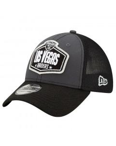 Las Vegas Raiders New Era 39THIRTY Trucker 2021 NFL Official Draft kapa