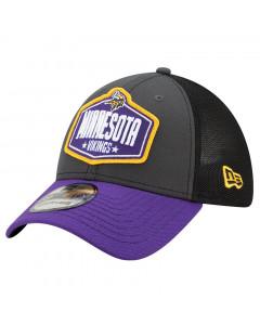 Minnesota Vikings New Era 39THIRTY Trucker 2021 NFL Official Draft kapa