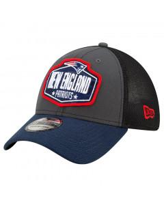 New England Patriots New Era 39THIRTY Trucker 2021 NFL Official Draft kapa