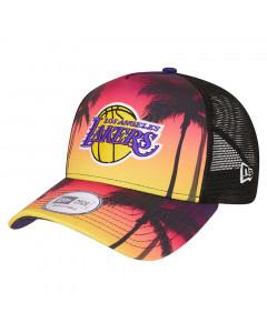 Los Angeles Lakers New Era TruckerSummer City Mütze