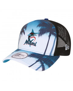 Miami Marlins New Era TruckerSummer City kapa
