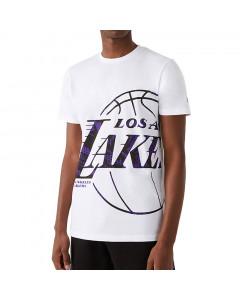 Los Angeles Lakers New Era Oil Slick Infill Logo T-Shirt