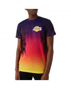 Los Angeles Lakers New Era Summer City Print T-Shirt