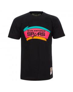 San Antonio Spurs Mitchell & Ness Neon Logo majica