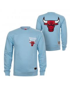 Chicago Bulls Mitchell & Ness Warm Up Pastel Crew pulover