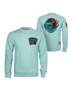 Vancouver Grizzlies Mitchell & Ness Warm Up Pastel Crew pulover