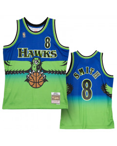 Steve Smith Atlanta Hawks 1996-97 Mitchell & Ness Reload 2.0 Swingman dres