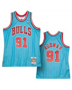 Dennis Rodman Chicago Bulls 1995-96 Mitchell & Ness Reload 2.0 Swingman dres