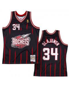 Hakeem Olajuwon Houston Rockets 1996-97 Mitchell & Ness Reload 2.0 Swingman Trikot