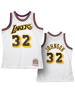 Magic Johnson Los Angeles Lakers 1984-85 Mitchell & Ness Reload 2.0 Swingman Trikot