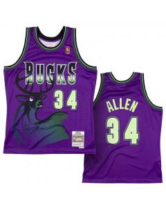 Ray Allen Milwaukee Bucks 1996-97 Mitchell & Ness Reload 2.0 Swingman dres