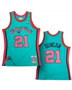 Tim Duncan San Antonio Spurs 1998-99 Mitchell & Ness Reload 2.0 Swingman dres