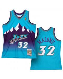 Karl Malone Utah Jazz 1996-97 Mitchell & Ness Reload 2.0 Swingman dres